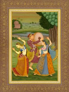 A Dance for Self Delight, Mughal miniature