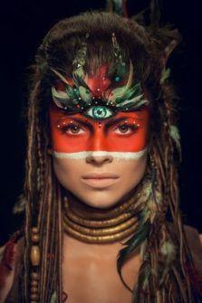 25 Indian Halloween Makeup Ideas for Women