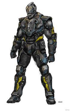Military armor concept