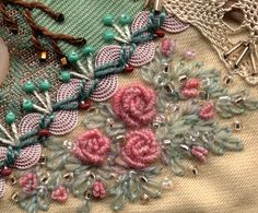The magick of hand stitching and embroidery can enhance your daily life.  Altar cloths of mythic or modest proportions may contain magickal correspondences of color, shape and specific embroidery stitches.