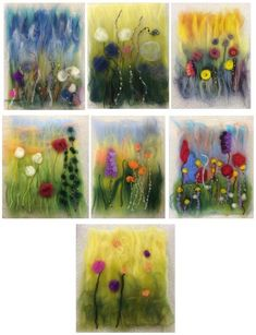 I've discovered an unexpected benefit of running local workshops……I'm discovering villages in Lincolnshire that I didn't know existed! Today I was at Withern Village Hall, deep in the …Needlefelting onto wet felted piecesPosts about wet Felted Wet Felting Projects, Needle Felting Tutorials, Felt Projects, Felted Soap, Felt Pictures, Class Pictures, Felt Embroidery, Wool Art, Art Textile