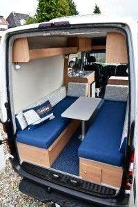 Van Conversion Bed In 2020 Ford Transit Campervan Ford Transit