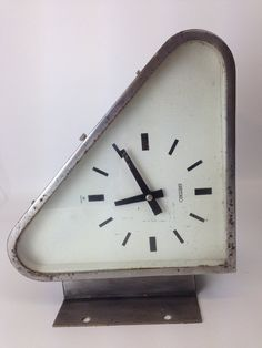 we have sold out of our extremely popular vintage doublesided triangular seiko shipsu0027 clocks we have a limited stock of the same only with differing