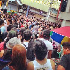 Sinulog 2014 #streetparty #wetandwild #sinulog2014 #cebu #mango #baseline #party #booze