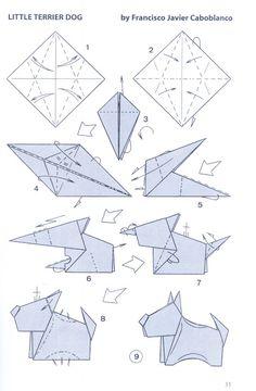 оригами: Терьер