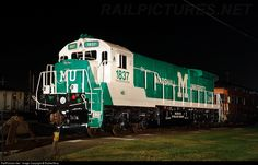 CSX has painted up a C30-7 for Marshall University #1837 and is now on Display at the CSX Dispatcher Offices in Huntington, WV