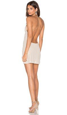 7d0fe22629 Shop for Motel Sterling Dress in Cream Milky Sequin at REVOLVE.