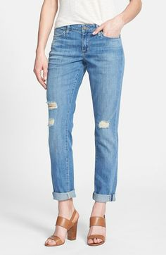 CJ by Cookie Johnson 'Glory' Deconstructed Slim Boyfriend Jeans (Marvin)