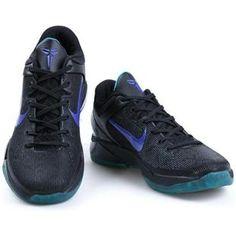 http://www.asneakers4u.com/ Nike Zoom Kobe 7 VII Black/Blue