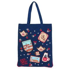 Ghibli Kiki's Delivery Service Japan Anime Icon Patch and embroidery Tote Bag
