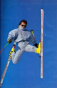 The best part about thrift shop ski gear  Retro style! Ski Onesie b915b8570