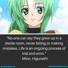 Mion Sonozaki, from Higurashi: When They Cry