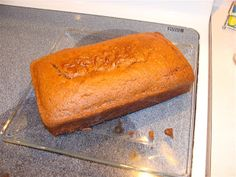 COMMENTS: This was delicious! It's a good thing it makes two loaves because the first loaf disappeared before it was cooled! Gluten Free Pumpkin Bread, Vegan Gluten Free, Gluten Free Recipes, Dairy Free, Fall Recipes, Real Food Recipes, Cooking Recipes, Just Desserts, Delicious Desserts