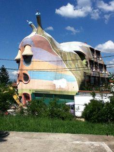 Snail House- Sofia, Bulgaria