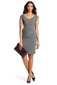 Bevin Ceramic Ruched Sheath Dress In Night Fall... okay I officially have a new fave designer. DVF!
