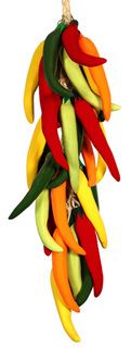 Cinco de Mayo Decorations Arbol Chili Pepper Strand Image  @amazingavocado  #CincoAvocados