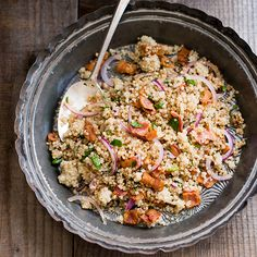 Quinoa is a healthy grain-like seed that's become incredibly popular with both home cooks and professional chefs. This protein- and fiber-rich ingredient has a wonderfully nutty flavor and a...