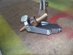 Torch Adjustable Plate Bevel Attachment by oldtimer - I made this adjustable plate beveling attachment to cut bevels 30 to 60 degrees. Works great with my Victor 2460 torch but can be used with any torch.
