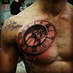 Glen Middleton watch tattoo.