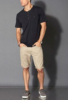 Mens fashion classy - Cool Summer Shorts Shoes for Men Mode Outfits, Casual Outfits, Casual Shorts Outfit, Short Outfits, Stylish Men, Men Casual, Casual Wear, Summer Shorts Outfits, Cruise Outfits