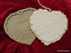 """MAKE DO DOLLS"": BROWN BAG COOKIE MOLDS--HAND CAST PAPER"
