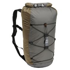 The Cloudburst 25 is an excellent daypack.  It fits well in my suitcase, it's waterproof, it has support in the back yet is very thin.  It also has a sternum strap and a hip strap.  It is very light and packs up small.  Recommended.