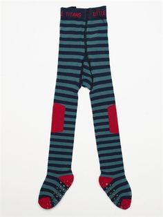 Little Titans - Blue Stripe Tights  http://archiesboutique.com/products/107714--archies-little-titans-tights.aspx
