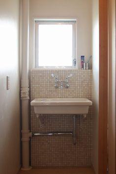 Natural Interior, Sink, Vanity, Bathroom, House, Home Decor, Image, Sink Tops, Dressing Tables