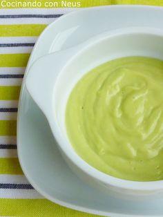 Cocinando con Neus: Crema de aguacate