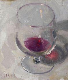 Still life  wine glass Duane Keiser