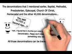 Catholic vs Protestants, Methodist, Baptist - Explained Totally worth the 12 minutes!!