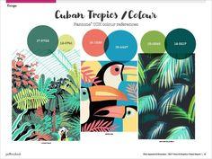 Spring/Summer 2017 Print & Pattern Trend Report - Cuban Tropics