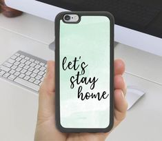 Lets Stay Home #Stayhome Phone Case iPhone X 11 iPhone XR iPhone Plus Samsung S7 S8 S9 S10 Note 5 Galaxy Note 7, Galaxy S8, Iphone Phone Cases, Iphone 4, Samsung Logo, Lets Stay Home, Cute Mugs, Note 5, Phone Wallpapers