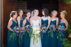 Stunning Peacock-Inspired Fête in Lake Chelan on Borrowed & Blue.  Photo Credit: Ben & Molly
