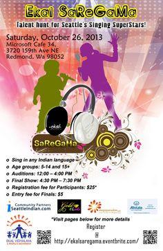 Ekal SaReGaMa check out http://www.seattleindian.com/seattle/eventdisplay.asp?id=57399