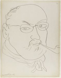 Henri Matisse, Self-Portrait, 1945, Thaw Collection, Morgan Library