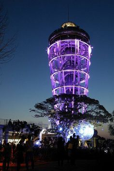 architecture purple | Famous Lighthouses | Enoshima Lighthouse, Japa | Architecture | purple
