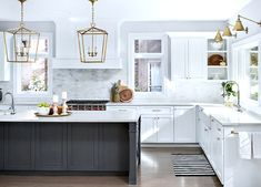 Lieblich ... Home Reno: DIY Kitchen Renovation   Part 1: The Plan | My Dream Home ♥  | Pinterest | White Granite Countertops, White Subway Tile Backsplash Andu2026
