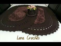 Tapete Decore em Crochê (para destro) - YouTube Crochet Videos, Crochet Home, Floor Rugs, Holiday Decor, Crafts, Knitting Tutorials, U2, Youtube, Floor Mats