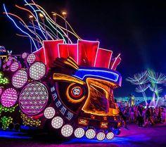 Mayan Art Car Crew 2015