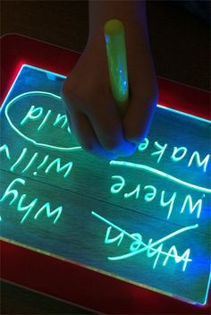 Word Games for Kids: High Frequency Word Hunt | Childhood101. Fun and engaging game that can be played on a chalkboard, whiteboard, magna doodle or with pen and paper. Perfect for beginning readers.