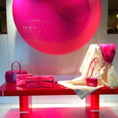 Pinks Hermes Faubourg Saint Honore Paris Spring 2012