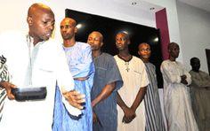Photo : DSS parades ex-aide to Borno gov, 6 other fake Boko Haram members - http://streetsofnaija.net/2014/12/photo-dss-parades-ex-aide-to-borno-gov-6-other-fake-boko-haram-members/