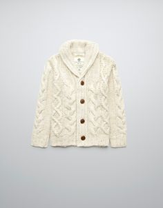 CABLE KNIT CARDIGAN - Cardigans and sweaters - Boy (2-14 years) - Kids - ZARA United States