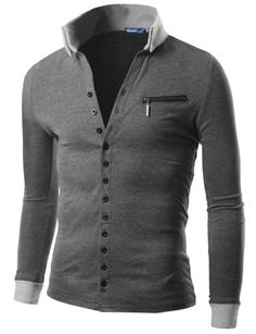 Doublju Mens Jersey Cardigan with Contrast Detail CHARCOAL (US-XL) Doublju,http://www.amazon.com/dp/B00C5W8NVE/ref=cm_sw_r_pi_dp_IXpUsb0TK4RYC5FN