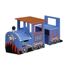 Check out the Teamson W-8207A Trains and Trucks Train Writing Desk