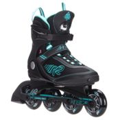 K2 Kinetic 80 Womens Inline Skates 2016, Black-Turquoise