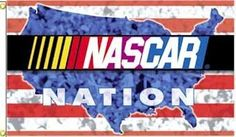 "132743-Nascar Nation 3x5' Flags Case Pack 6 by DDI. $224.48. This full color """"""""Officially Licensed"""""""" 3' x 5' flag is 100% polyester, has two grommets for flying outdoors or makes a great wall decor indoors. The flag has been approved by NASCAR. This flag has an extra wide headband and is made of 150 denier polyester."""" Case Pack 6 Please note: If there is a color/size/type option, the option closest to the image will be shipped (Or you may receive a random..."