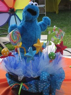 "Photo 33 of 196: Sesame Street / Birthday ""Kailan's Sesame Street Celebration"" 