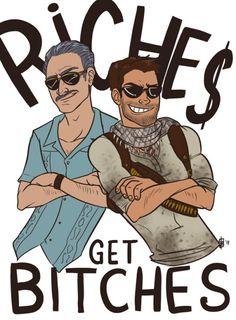 Riches get bitches Star Wars Poster, Star Wars Art, Star Trek, Uncharted Series, Batman Tattoo, Banana Bus Squad, Lets Play A Game, Nathan Drake, Star Wars Tattoo